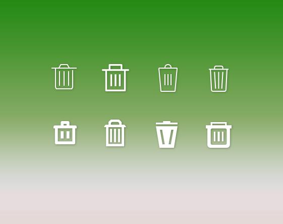 Delete-and-trash